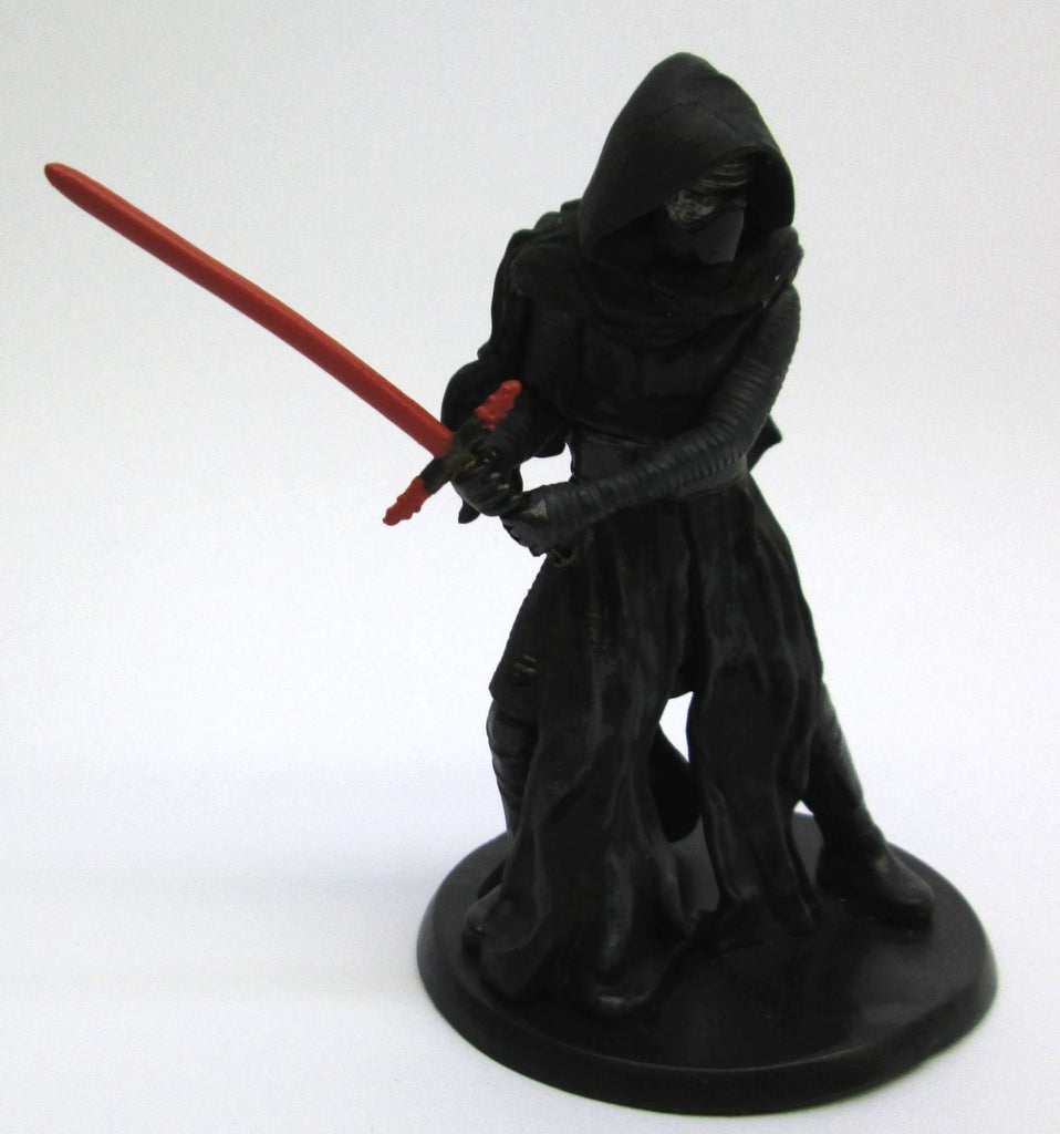 STAR WARS The Force Awakens Disney KYLO REN 4 Inch Display Shelf FIGURE On Stand