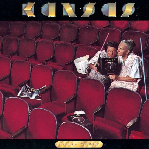 Kansas Two for The Show, 2 LP Album Set, Live! 1978- Pop Rock, Prog Rock (CLEARANCE VINYL) Slightly warped