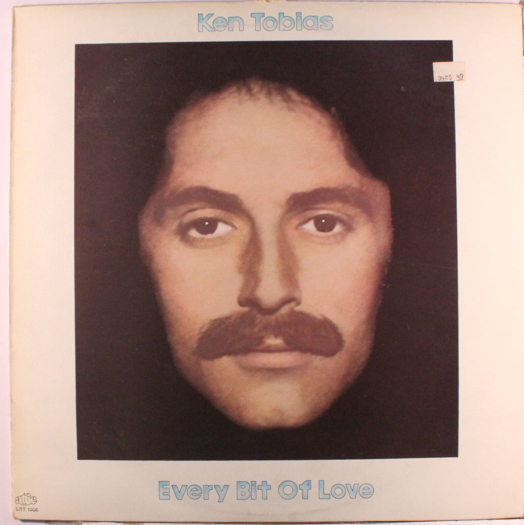 Ken Tobias ‎– Every Bit Of Love-1972 Folk Rock (clearance vinyl)