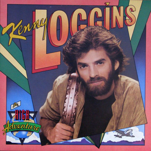 Kenny Loggins ‎– High Adventure - 1982-Pop Rock (vinyl)