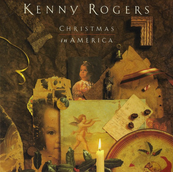 Kenny Rogers ‎– Christmas In America - 1989- Country, Ballad, Easy Listening , Christmas (vinyl)