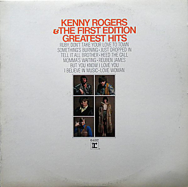 2 - Kenny Rogers & The 1st Edition albums - 2FER (Clearance Vinyl)