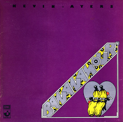 Kevin Ayers ‎– Bananamour - 1973-Rock, Pop ( Vinyl )