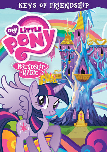 My Little Pony Friendship is Magic: The Keys of Friendship DVD - New Sealed