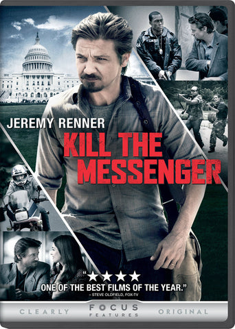 Kill the Messenger (Bilingual) 2015 DVD Jeremy Renner  New sealed