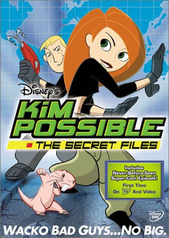 Kim Possible: The Secret Files DVD- mint used