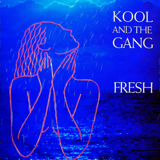 "Kool And The Gang ‎– Fresh -1984 -  Funk / Soul ( Vinyl, 12"", 45 RPM, Single )"