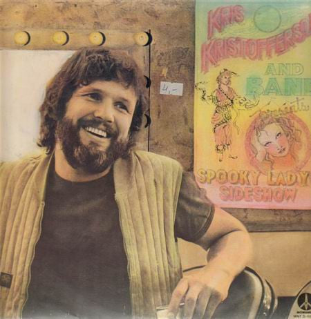 Kris Kristofferson ‎– Spooky Lady's Sideshow ( Clearance Vinyl )