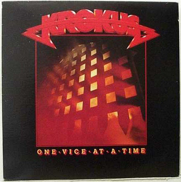 Krokus ‎– One Vice At A Time -1982-  Hard Rock, Heavy Metal (vinyl)