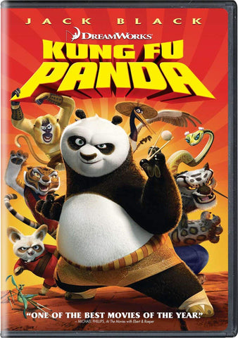 Kung Fu Panda (Widescreen) (Bilingual) - Mint Used DVD