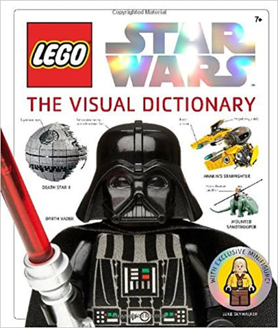 LEGO Star Wars: The Visual Dictionary Hardcover – Oct 5 2009 (mint Used)