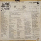 Lambert, Hendricks & Ross! ‎– The Hottest New Group In Jazz - 1959- Jazz (Rare Vinyl)