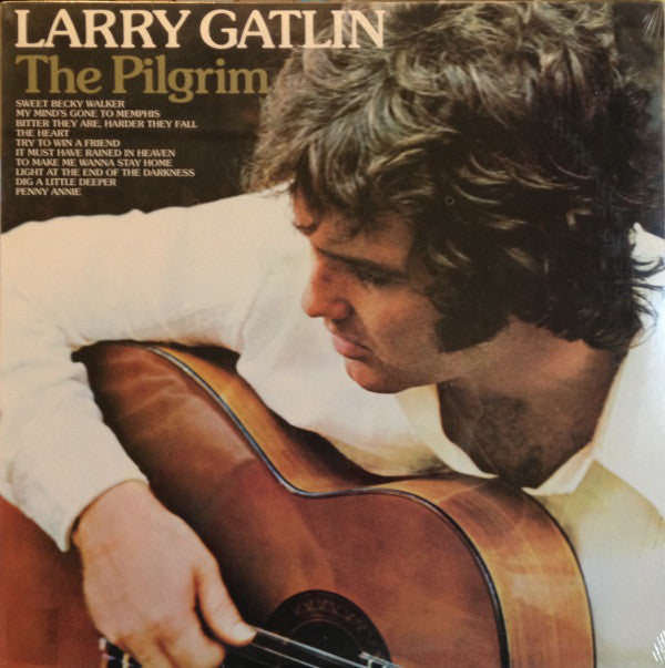 Larry Gatlin ‎– The Pilgrim -1980-Folk Country (vinyl)
