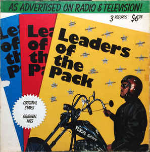 Leaders Of The Pack - 3 lps -  Rock & Roll, Vocal, Doo Wop (vinyl) Beach Boys,Little Richard ++