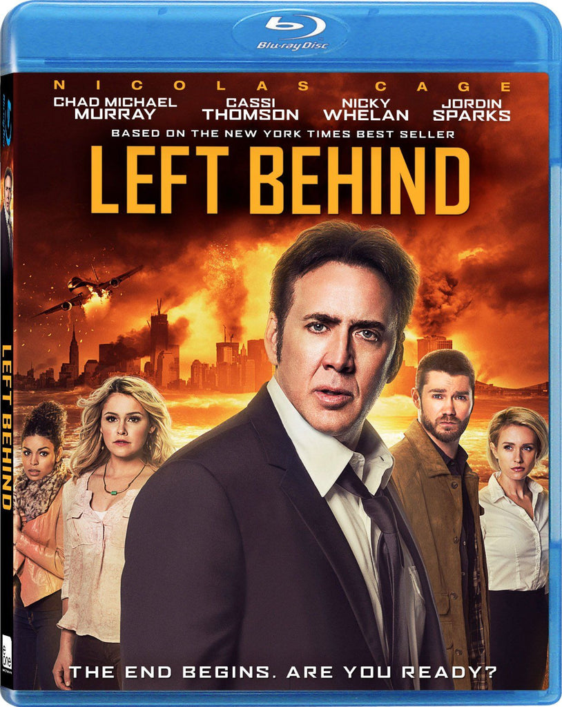 Left Behind [Blu-ray] new sealed Nicholas Cage