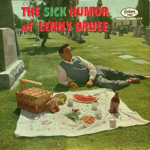 Lenny Bruce ‎– The Sick Humor Of Lenny Bruce -1959- Comedy (Rare Vinyl)