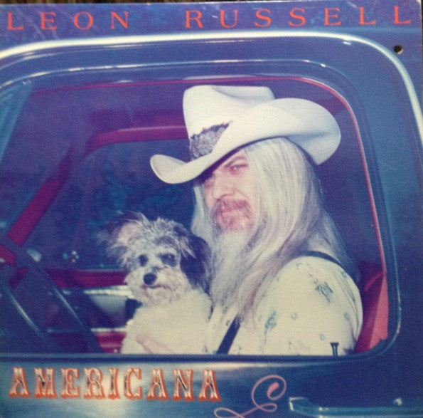 Leon Russell ‎– Americana - 1978 Country Blues (vinyl)