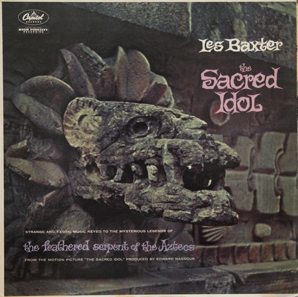 Les Baxter ‎– The Sacred Idol-1960- Space-Age Jazz, Folk, (rare vinyl)