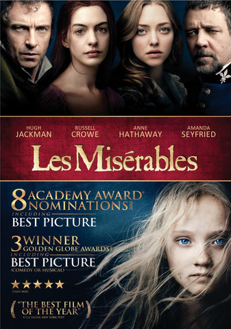 Les Misérables DVD - Mint Used