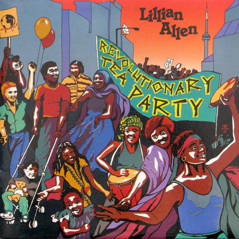 Lillian Allen ‎– Revolutionary Tea Party - 1986 Dub Poetry (vinyl)
