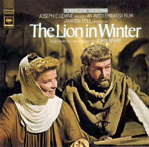 John Barry ‎– The Lion In Winter (Original Motion Picture Soundtrack) -  1968-Soundtrack (vinyl)