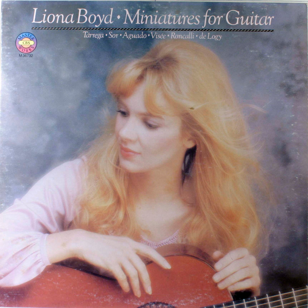Liona Boyd ‎– Miniatures For Guitar - 1981- Classical Guitar (vinyl)