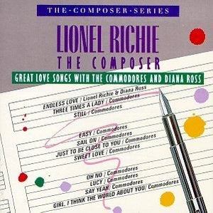 Lionel Richie ‎– Great Love Songs With The Commodores & Diana Ross -1986- pop (new sealed vinyl)