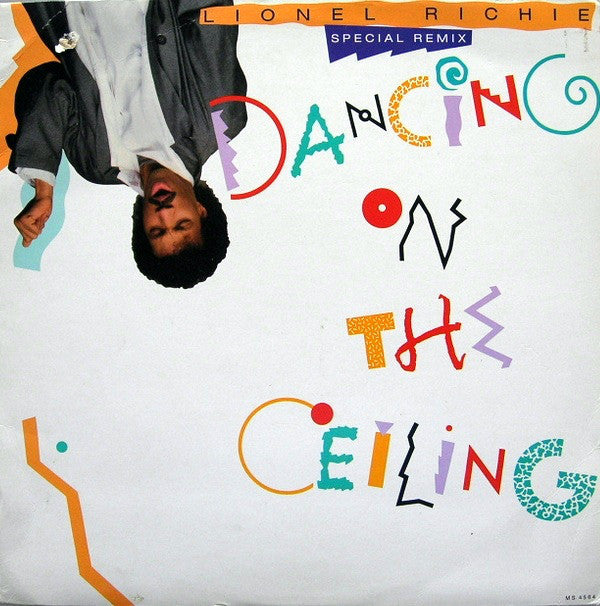 Lionel Richie ‎– Dancing On The Ceiling -1986-Vinyl, 12""
