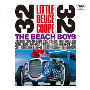 Beach Boys ‎– Little Deuce Coupe -1980 - Surf Rock ( clearance vinyl )