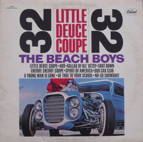 Beach Boys ‎– Little Deuce Coupe -1980 - Surf Rock (vinyl)