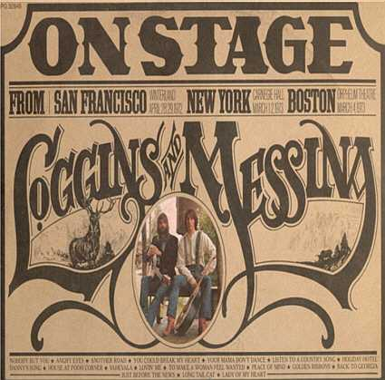 Loggins And Messina ‎– On Stage 2 lps - 1974- Country Rock ( vinyl )