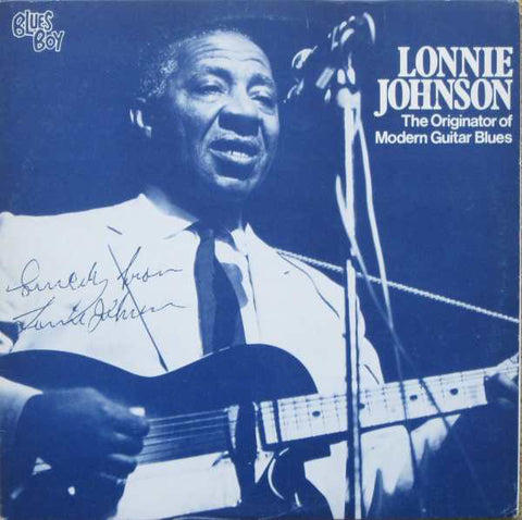 Lonnie Johnson – The Originator Of Modern Guitar Blues - 1980- Blues ( Swedish Import Vinyl)