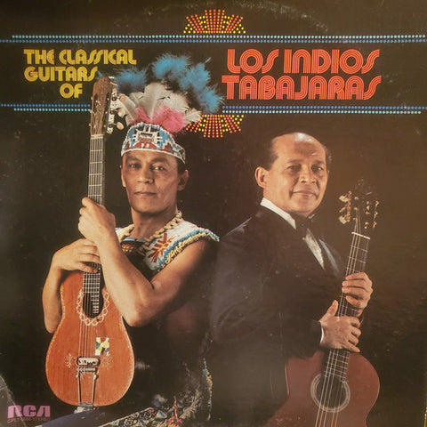 Los Indios Tabajaras ‎– The Classical Guitars Of - 1974-atin, Classical, Folk, World, & Country (Vinyl)