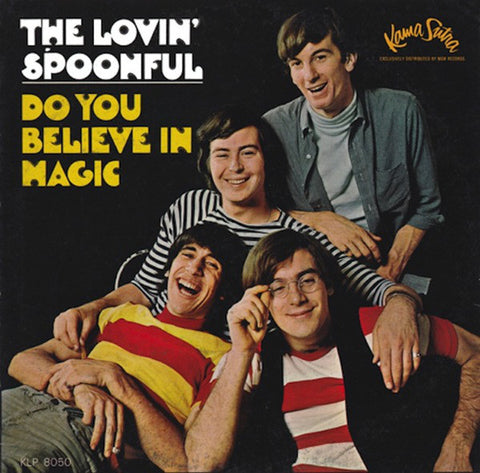 Lovin' Spoonful ‎– Do You Believe In Magic -1965-  Country Blues, Pop Rock (vinyl)
