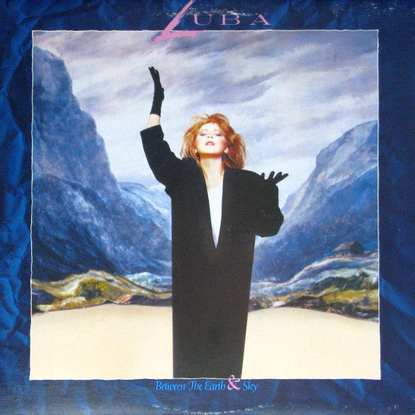 Luba ‎– Between The Earth & Sky - 1986 Pop (vinyl)