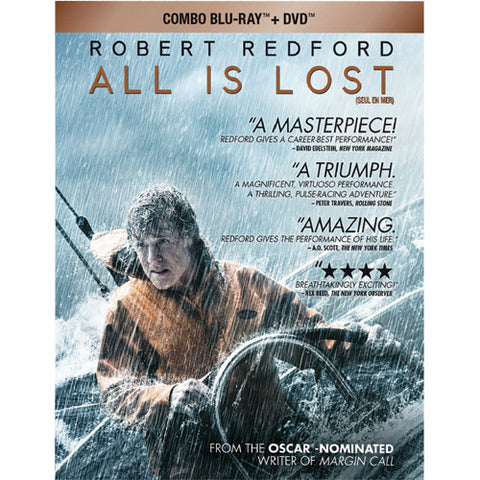 All Is Lost [Blu-ray DVD] Mint Used