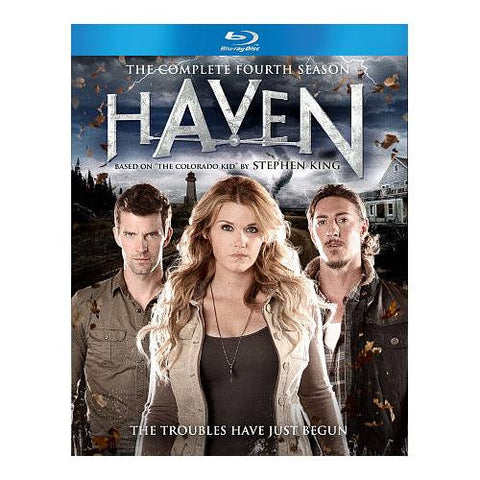 Haven: Season 4 [Blu-ray] New / Sealed
