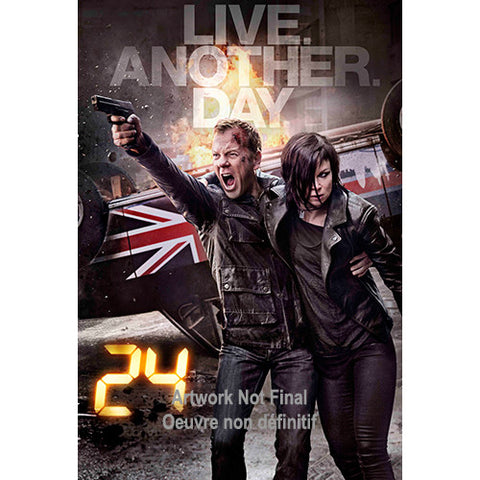 24: Live Another Day - The Complete Ninth Season [Blu-ray] Mint / Used
