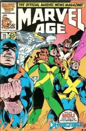 MARVEL AGE #39 - X Factor