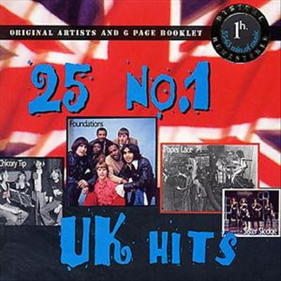 25 No.1 UK Hits CD