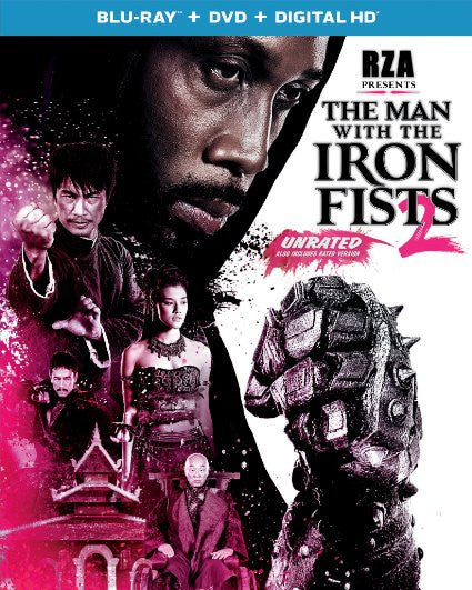 Man With Iron Fist 2 (Blu-ray Combo) (2015)  new sealed