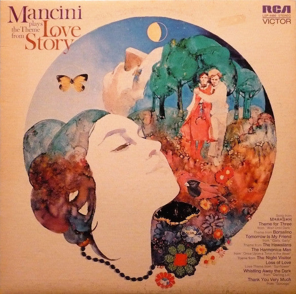 "Henry Mancini ‎– Mancini Plays The Theme From ""Love Story"" -1970 -Jazz, Stage & Screen (Vinyl)"