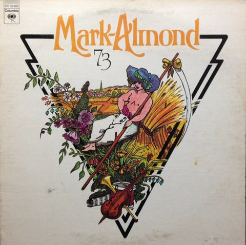 Mark Almond ‎– 73 - 1973 - Art Rock, Jazz-Rock, Prog Rock (vinyl)