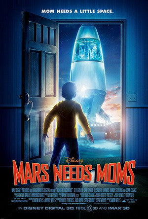 Mars Needs Moms DVD - Used / Mint
