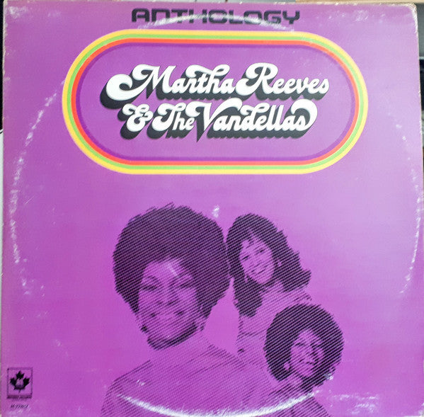 Martha Reeves & The Vandellas ‎– Anthology - 1974 Motown Anthology-  Funk / Soul - 2 lps (vinyl)
