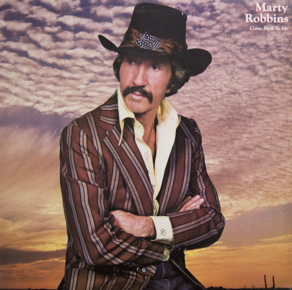 Marty Robbins ‎– Come Back To Me -1982 Country (vinyl)