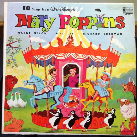 Mary Poppins - 10 Songs From Mary Poppins Disneyland (vinyl)