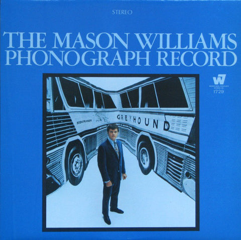 Mason Williams ‎– The Mason Williams Phonograph Record - 1968-Folk Rock, Pop Rock (vinyl)
