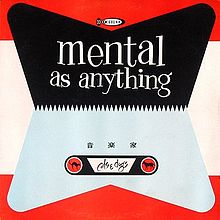 Mental As Anything - Cats & Dogs -1981-  Alternative Rock, Pop Rock (vinyl)