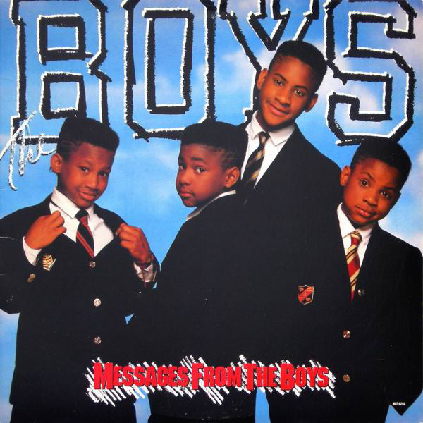 Boys,The ‎– Messages From The Boys- 1988  RnB/Swing (vinyl) Motown